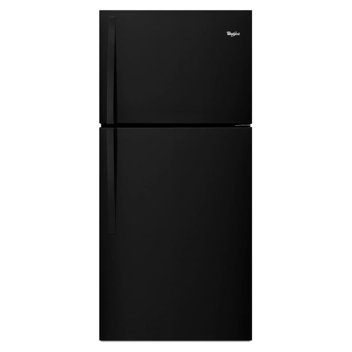 Whirlpool  30 inch Wide 19.2 cu.ft. Top Freezer Refrigerator EZ Connect Icemaker Kit Compatible in black WRT549SZDB