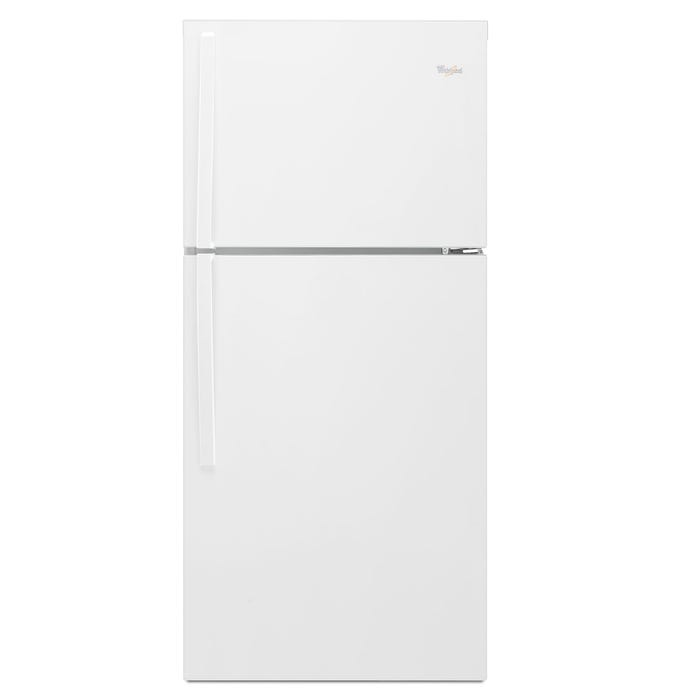 Whirlpool 30 inch Wide 19.2 cu.ft. Top Freezer Refrigerator EZ Connect Icemaker Kit Compatible in white WRT549SZDW