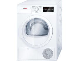 Bosch 24 inch 4.0 cu. ft. 300 Series Compact Condensation Electric Dryer in White WTG86400UC