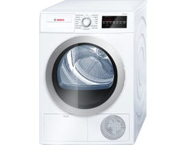Bosch 24 inch 63 dBa 4.0 Cu. Ft. Compact Condensation Dryer 500 Series in White WTG86401UC