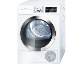 Bosch 24 inch 4.0 Cu. Ft. Condensation Dryer 800 Series White WTG86402UC