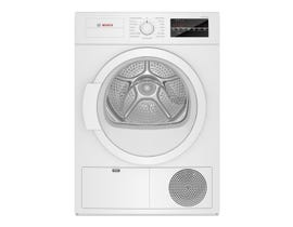 Bosch 300 Series 4.0 cu.ft. Compact Condensation Dryer in White WTG86403UC