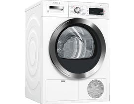 Bosch 800 4.0 Cu. Ft. 14-cycle Electric Steam Dryer White/Stainless Steel  WTG865H2UC
