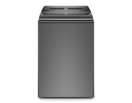 Whirlpool 27 inch 6.0 cu. ft. Top Load Washer in Chrome Shadow WTW8127LC