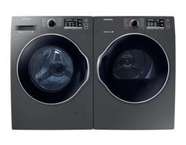 Samsung Laundry Pair 2.6 cu. ft. Washer WW22K6800AX & 4.0 cu. ft. Electric Dryer DV22K6800EX