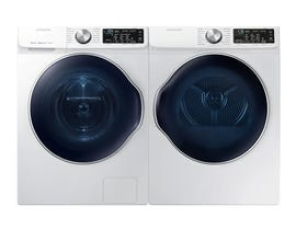 Samsung Laundry Pair 2.4 cu. ft. Washer WW22N6850QW & 4.0 cu. ft. Electric Dryer DVE22N6850W