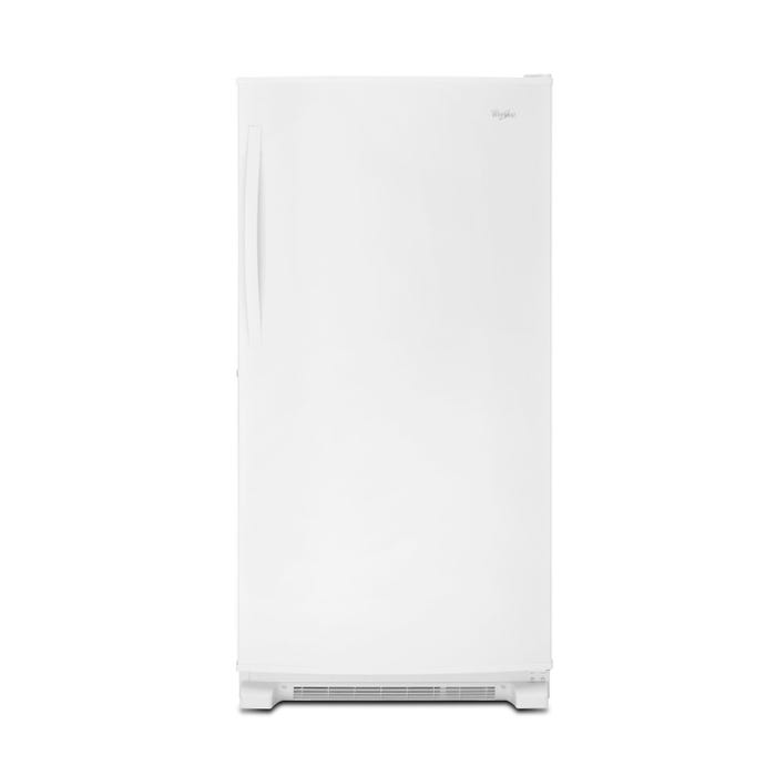 Whirlpool 33 1/4 inch 20 cu.ft. upright freezer in white WZF79R20DW