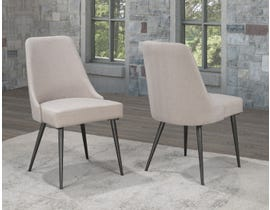 Brassex Celine Dining Chair (Set of 2) in Beige XA654-BEI