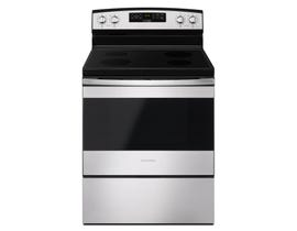 Amana 30 inch 4.8 cu.ft. Electric Range freestanding with Radiant Smoothtop in stainless steel YAER6303MFS