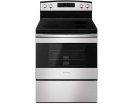 Amana 30 inch 4.8 cu.ft. Electric Range With Self Clean Option in stainless steel YAER6603SFS