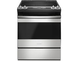 Amana 30 inch 4.8 cu. ft. Front Control Electric Range in Stainless Steel YAES6603SFS