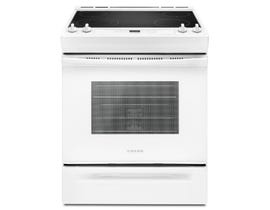 Amana® 30-inch Electric Range with Front Console YAES6603SFW