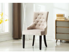 Kwality Furniture Pansy Collection Accent Chair (Set of Two) in Grey YD-300