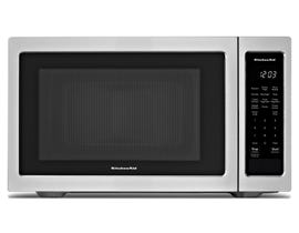 KitchenAid 1.6 Cu. Ft. Stainless Steel Countertop Microwave YKMCS1016GS