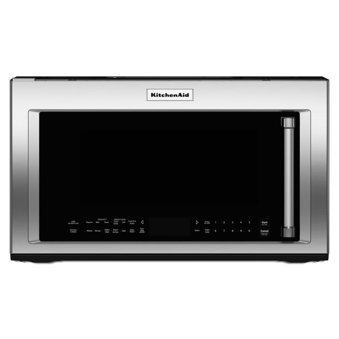 KitchenAid 30 inch 1.9 cu.ft.1000-watt convection microwave with high speed cooking in stainless YKMHP519ES