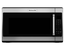 KitchenAid 30 inch 2.0 Cu.ft. Over-the-range Microwave with 7 Sensor Functions in Stainless Steel YKMHS120ES