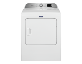 Maytag 7.0 cu. ft. Front Load Electric Dryer with Advanced Moisture Sensor in White YMED6200KW