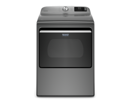 Maytag 7.4 cu. ft. Smart Top Load Electric Dryer in Metallic Slate YMED6230HC