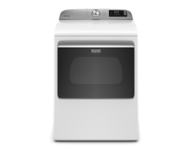 Maytag 7.4 cu. ft. Smart Top Load Electric Dryer in White YMED6230HW