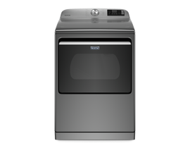 Maytag 27 inch 7.4 cu. ft. Smart Electric Dryer in Metallic Slate YMED7230HC