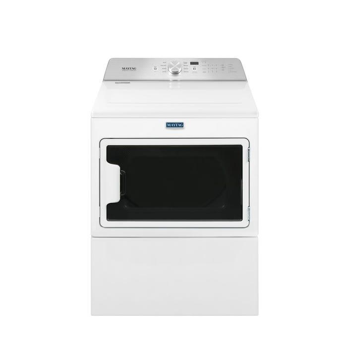 Maytag 7.4 cu.ft. electric dryer with intellidry sensor YMEDB765FW
