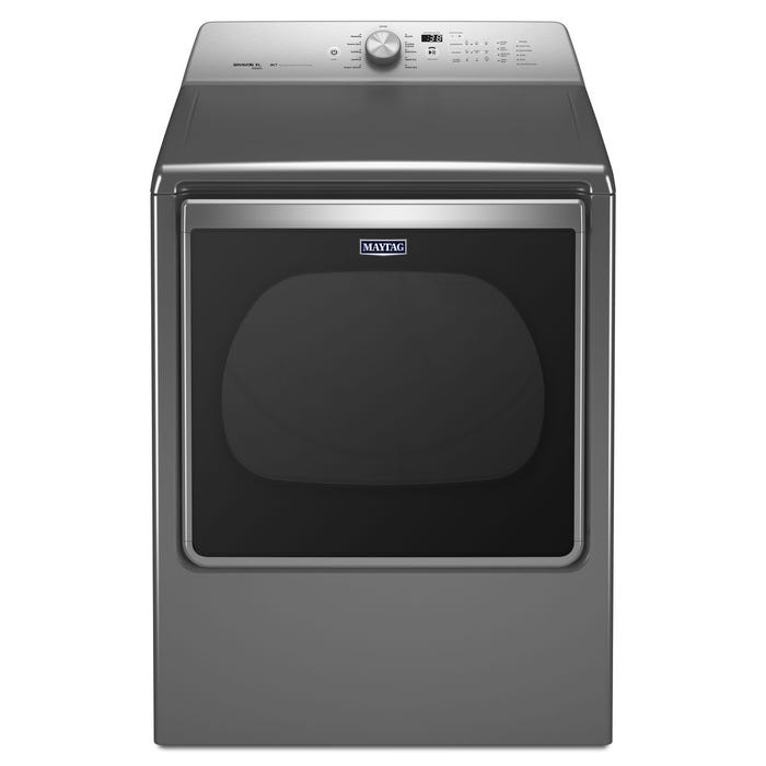 Maytag 29 inch 8.8 cu. ft Extra-Large Capacity Dryer with Steam Refresh Cycle in metallic slate YMEDB855DC