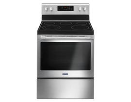 Maytag 30 inch 5.3 cu. ft. Free Standing Electric Range in Stainless Steel YMER6600FZ