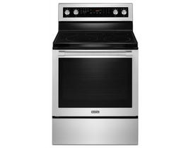 Maytag 30 inch 6.4 cu. ft. True Convection Electric Range in Stainless Steel YMER8800FZ