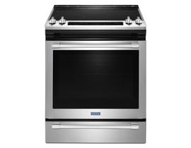 Maytag 30 inch 6.4 cu.ft. Slide In Electric Range With True Convection in stainless steel YMES8800FZ