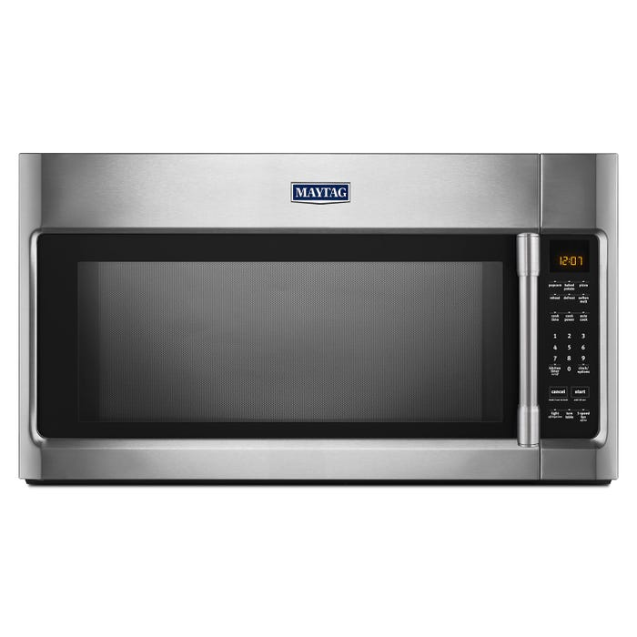 Maytag 30 inch 2.0 cu.ft. over-the-range microwave in stainless steel YMMV4206FZ