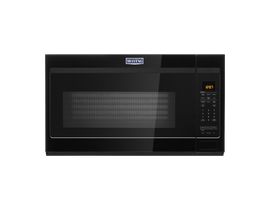 Maytag 30 inch 1.9 cu.ft. Over-the-range Microwave with Dual Crisp in Black YMMV4207JB