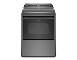 Whirlpool 27 inch 7.4 cu. ft. Electric Dryer in Chrome Shadow YWED5100HC
