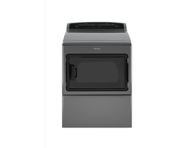 Whirlpool 7.4 cu. ft. Front Load Electric Dryer in Chrome Shadow YWED7500GC