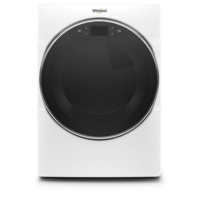 Whirlpool 27 Inch 7.40 Cu.Ft Front Load Dryer in White YWED9620HW