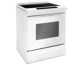 Whirlpool 30 inch 4.8 cu.ft. Slide-In Electric Range in white YWEE510S0FW