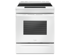 Whirlpool 30 inch 4.8 cu. ft. Slide-In Electric Range in White YWEE510S0FW