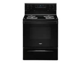 "Whirlpool 30"" 4.8 cu. ft. Electric Range in Black YWFC150M0JB"