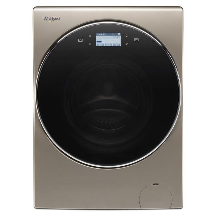 Whirlpool 3.2 cu.ft I.E.C. Smart All-In-One Washer and Dryer YWFC8090GX