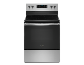 "Whirlpool 30"" 5.3 cu. ft. Electric Range in Stainless Steel YWFE505W0JZ"