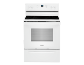 Whirlpool 30 inch 5.3 cu. ft. Electric Range in White YWFE515S0JW