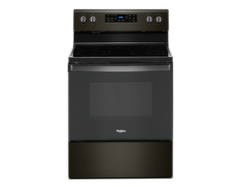 "Whirlpool 30"" 5.3 cu. ft. Electric Range in Black Stainless Steel YWFE535S0JV"