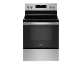 Whirlpool 5.3 cu. ft. Electric Range with Frozen Bake™ Technology in Stainless Steel YWFE535S0JZ