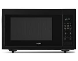 Whirlpool 1.6 Cu. Ft. 1100 Watt Countertop Microwave in Black YWMC30516HB