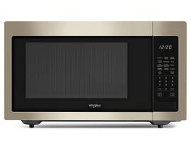 Whirlpool 1.6 Cu. Ft. 1100 Watt Countertop Microwave in FingerPrint Resistant Sunset Bronze Finish YWMC30516HN
