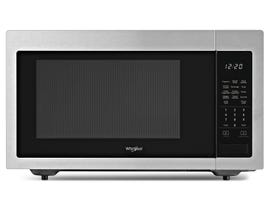 Whirlpool 1.6 Cu. Ft. 1100 Watt Countertop Microwave in FingerPrint Resistant Stainless Steel Finish YWMC30516HZ
